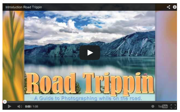 ebook & video tutorial on photographing on the road.